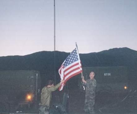 641 Flag Detail