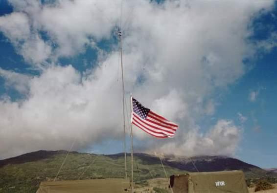 Flag at 641