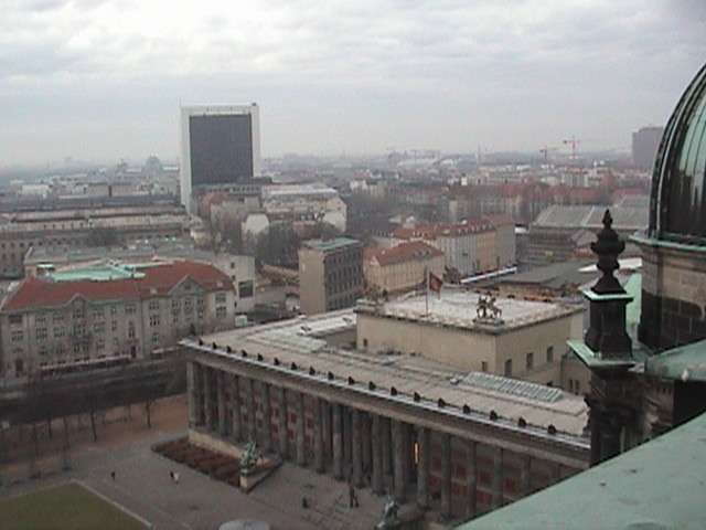 View from the dome of the Berliner Dom.