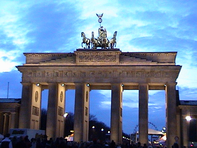 Brandenburger Tor.