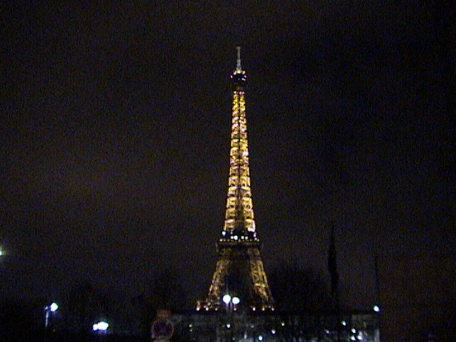Eiffel Tower night
