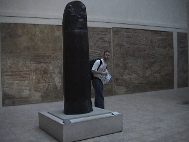 Larry and the Code of Hammurabi.