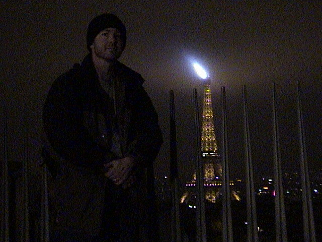 Larry on the Arc de Triomphe