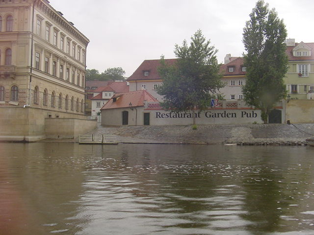 Prague from the River.