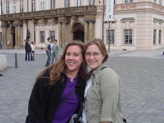 Holly and Paula.
