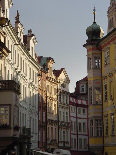 Prague Old Town.