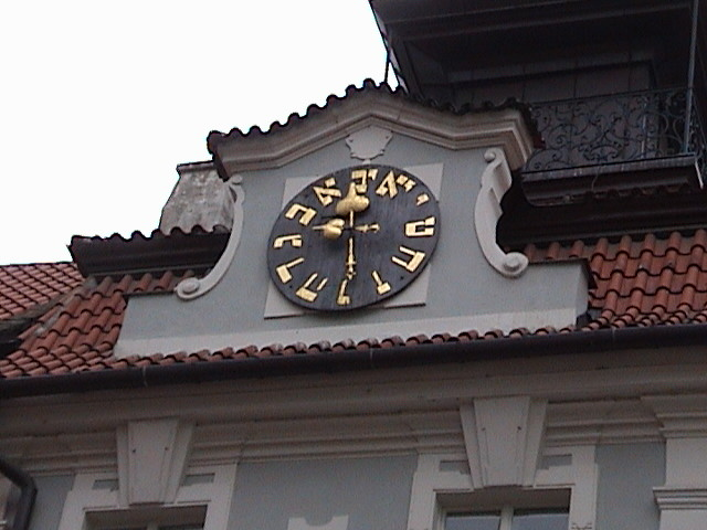 Hebrew Clock.