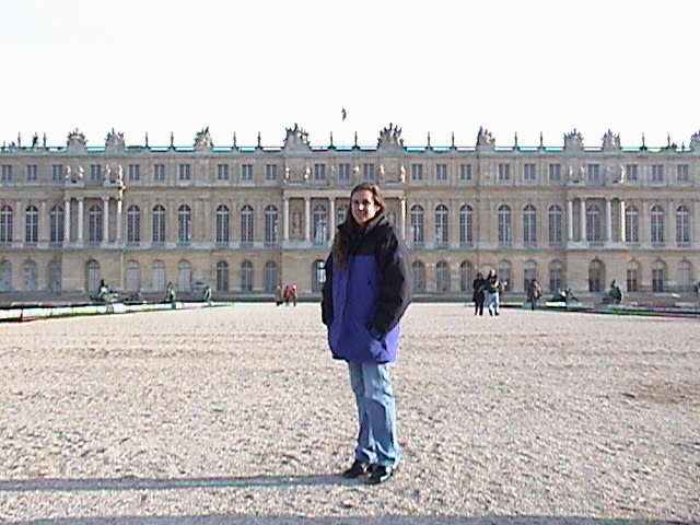 Holly at Versailles.